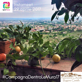 Instameet#CampagnaDentroLeMura17 con Igers Pistoia