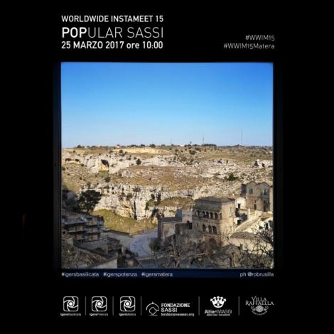 Popular Sassi – WWIM15 con IgersBasilicata