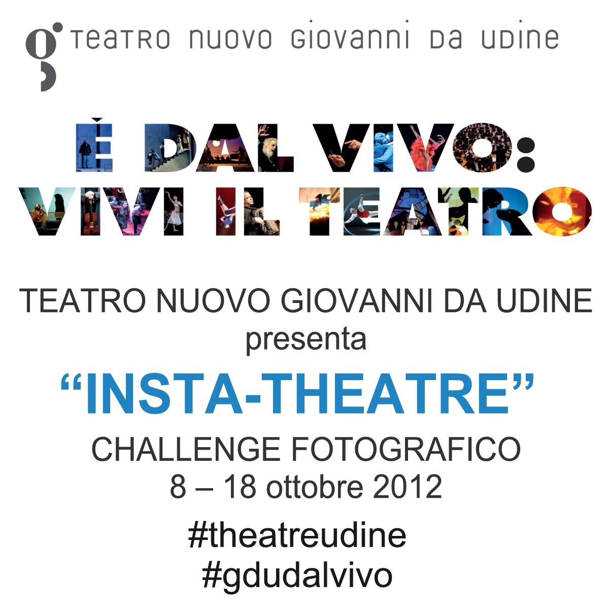 """Challenge fotografico """"Insta-Theatre"""""""