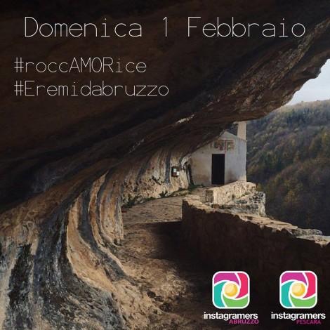 Instagramers Abruzzo porta Instagram a Roccamorice