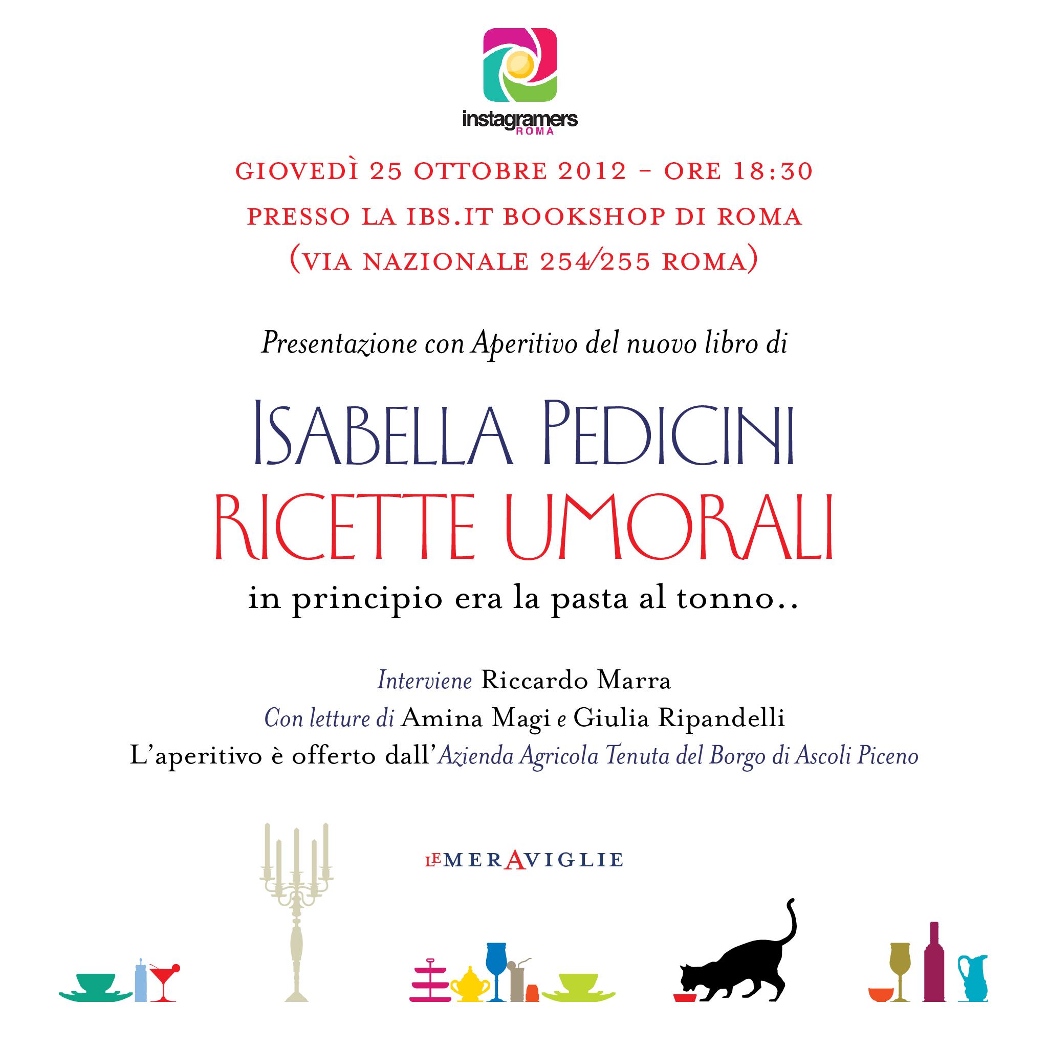 """Le """"Ricette Umorali"""" di Isabella Pedicini raccontate da IgersRoma"""