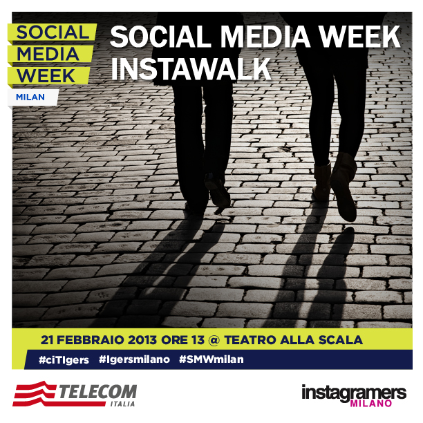 Social Media Week Instawalk IgersMilano