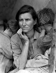 © Dorothea Lange Migrant Mother / California 1936