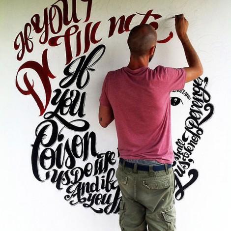 @misterpepsy: la delicatezza della calligrafia