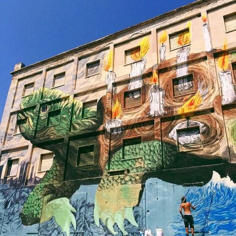 #Breghedebrè: a Sassari il racconto e la denuncia di Ericailcane