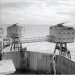 Le piattafrome marittime durante la seconda guerra mondiale