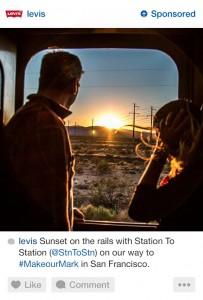 Levi's Instagram Ads
