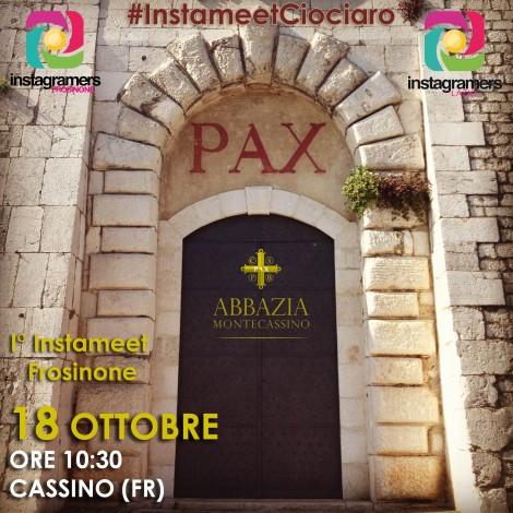 Instameet Ciociaro: il primo incontro degli igers frusinati all'Abbazia di Montecassino