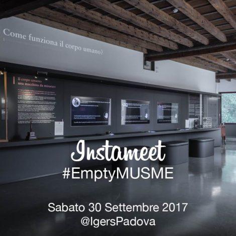 #EmptyMUSME: gli Igers Padova al Museo di Storia della Medicina