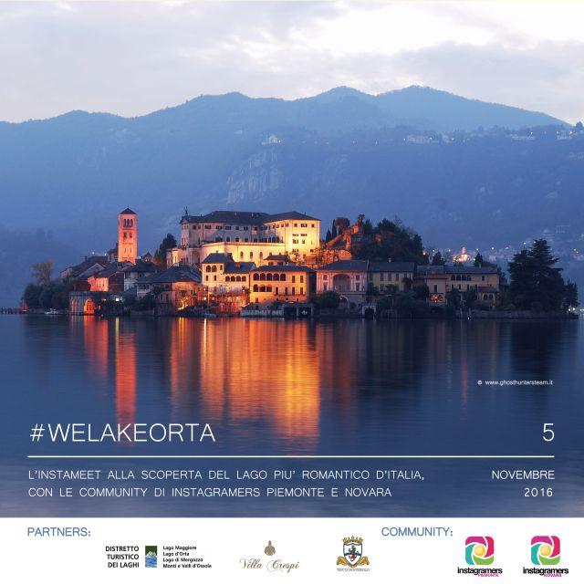 #WeLakeOrta – alla scoperta del Lago D'Orta con Instagramers Piemonte