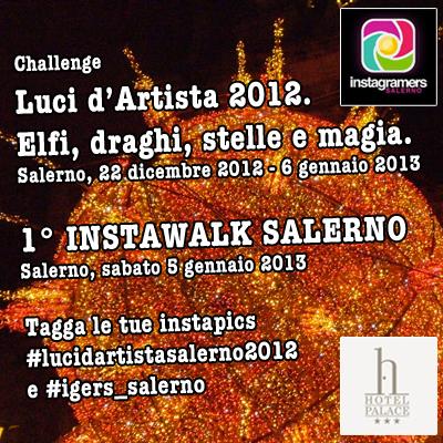 Luci d'Artista 2012. Elfi, draghi, stelle e magia a Salerno
