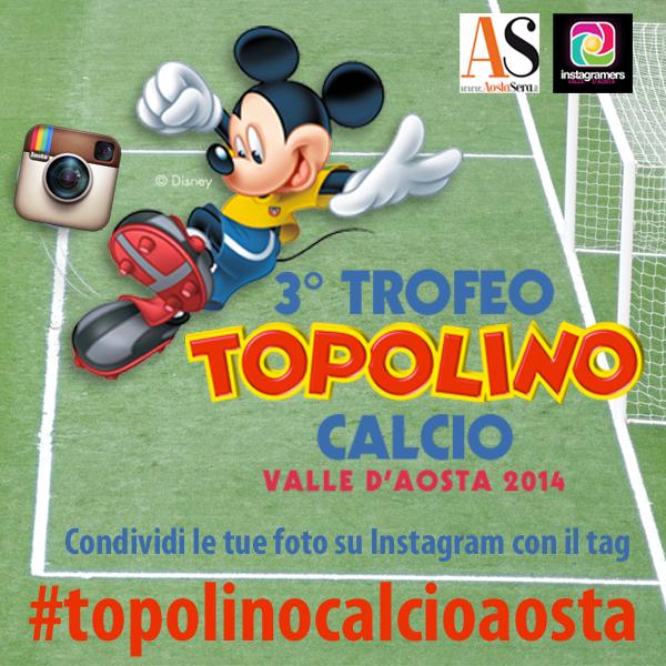 Topolino calcio Aosta: torna il challenge fotografico su Instagram