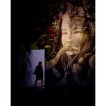 L'opera di Alice Pasquini, padiglione Roma, ph. @mattego