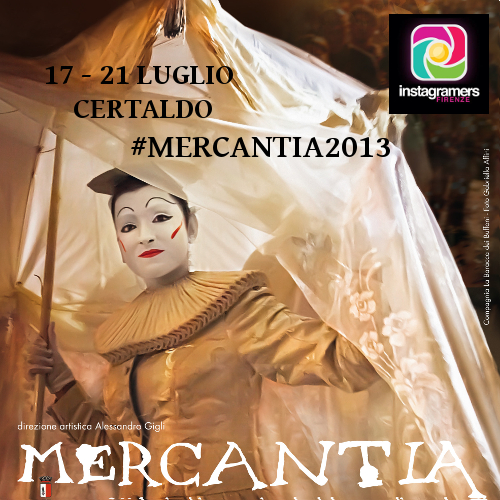 Vieni a Certaldo a raccontare Mercantia 2013 con Instagram