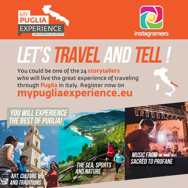 My Puglia Experience: chiamata per Igers italiani ed europei