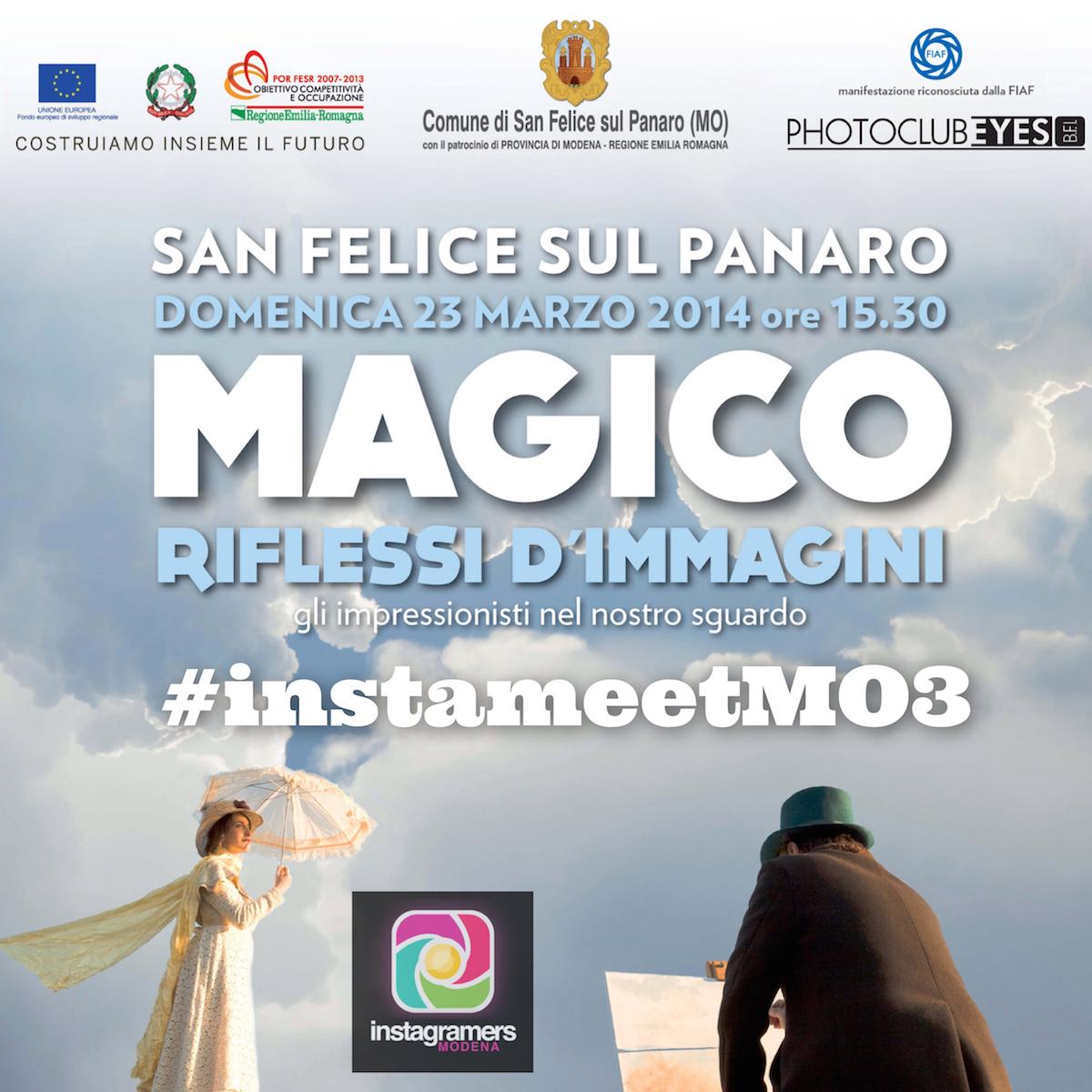 Con IgersModena un Instameet a Magico 2014