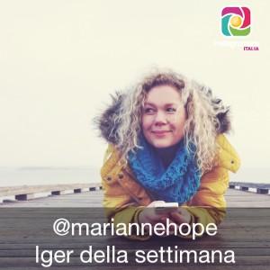 Marianne Hope Iger della settimana