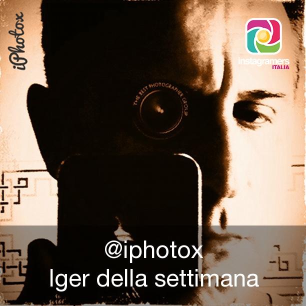 Mariano Luchini iphotox su Instagram iger della settimana