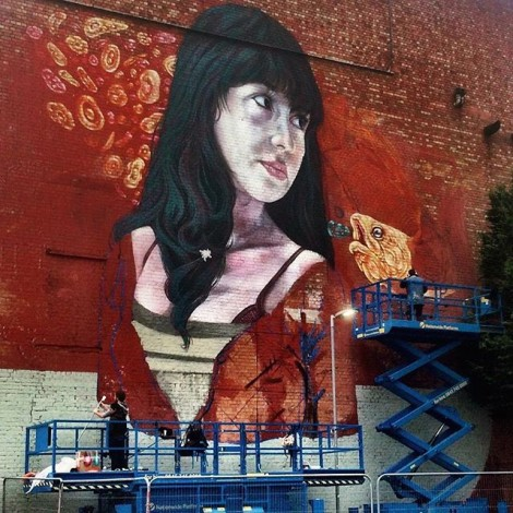Street art e condivisione a Bristol per l'#Upfest2015