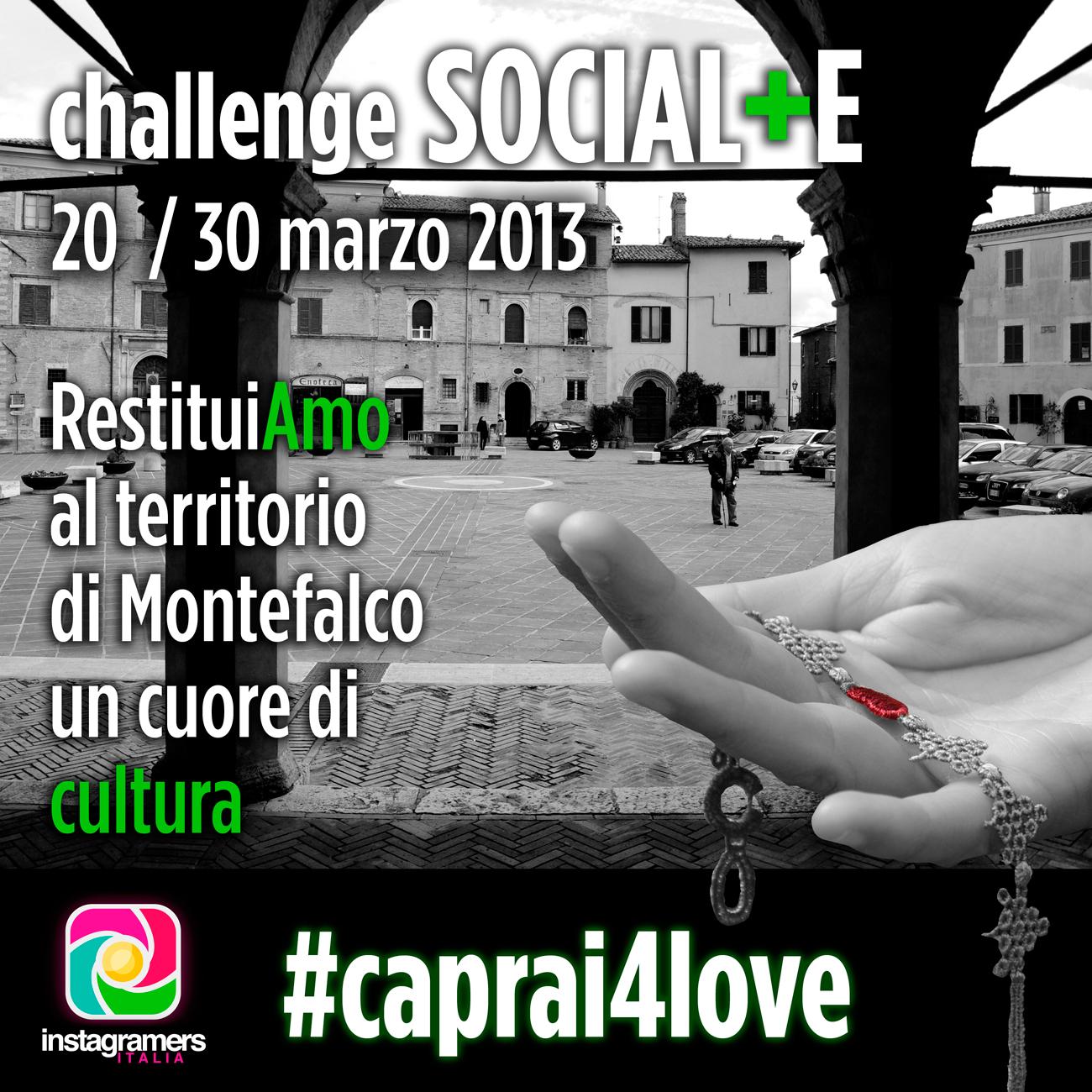 Caprai4love, un progetto culturale con Igersitalia
