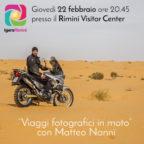 Igers Rimini presenta i viaggi in moto di Matteo Nanni