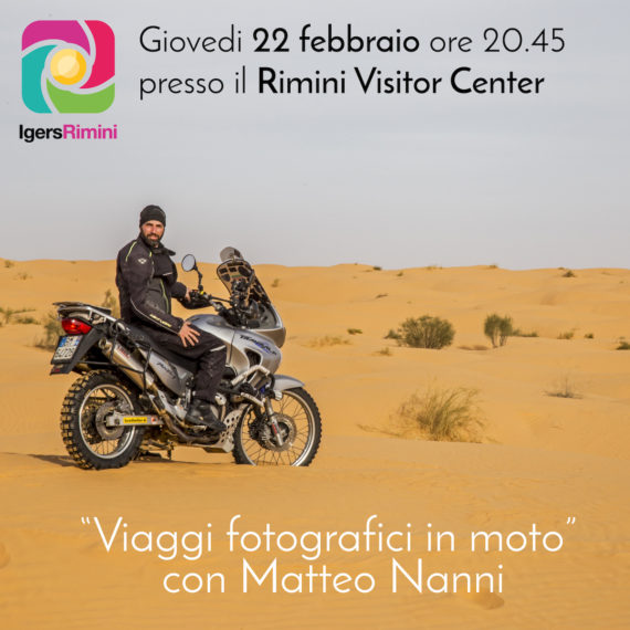I viaggi in moto di Matteo Nanni