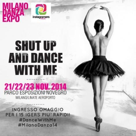 Instagramers Lombardia partner di Milano Danza Expo