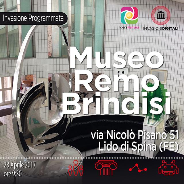 Invasioni Digitali: Casa Museo Remo Brindisi e Igersferrara