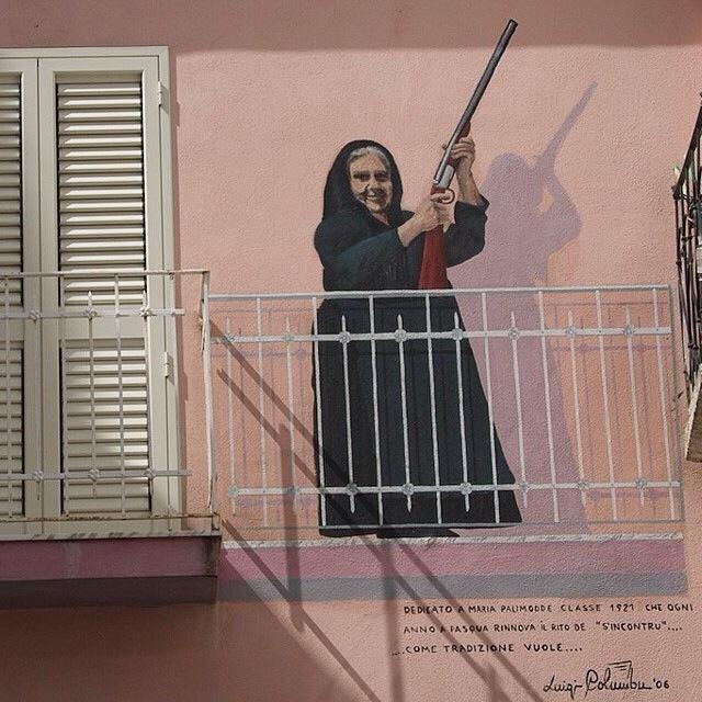Murales di Sardegna: street art ante litteram