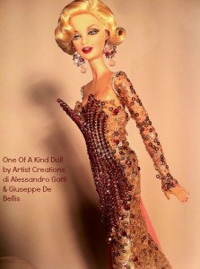 One Of A Kind Doll by Artist Creations di Alessandro Gatti & Giuseppe De Bellis