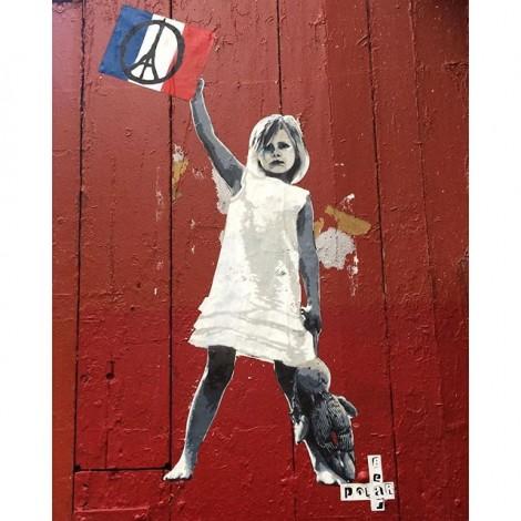 #SprayForParis: quando la street art è solidarietà