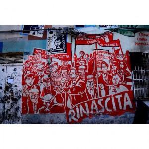 @peraloss. Orgosolo, murale di denuncia