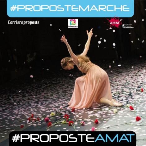 #ProposteMarche, un nuovo modo di vedere uno spettacolo