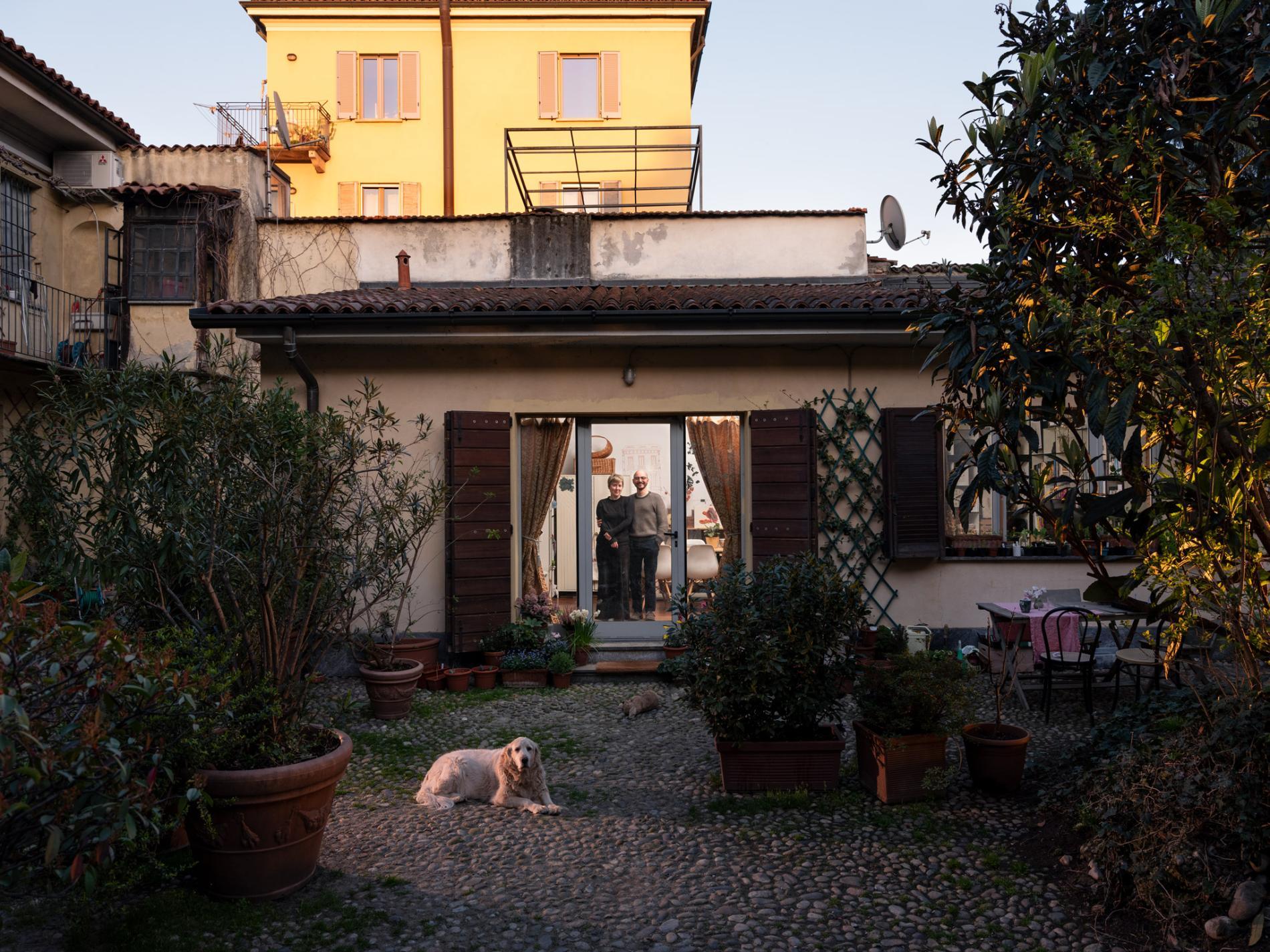 Paolo ed Elizabeth Lombardi - Ph credits Gabriele Galimberti