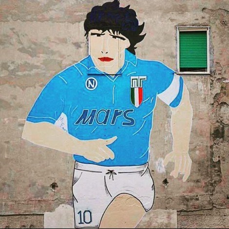 Il restauro del Maradona ai Quartieri Spagnoli: la street art è identità di un popolo