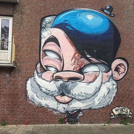 Mr. Wany: la street art a cartoon