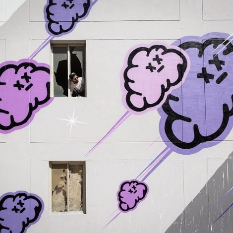 Myneandyours: l'artista delle nuvole