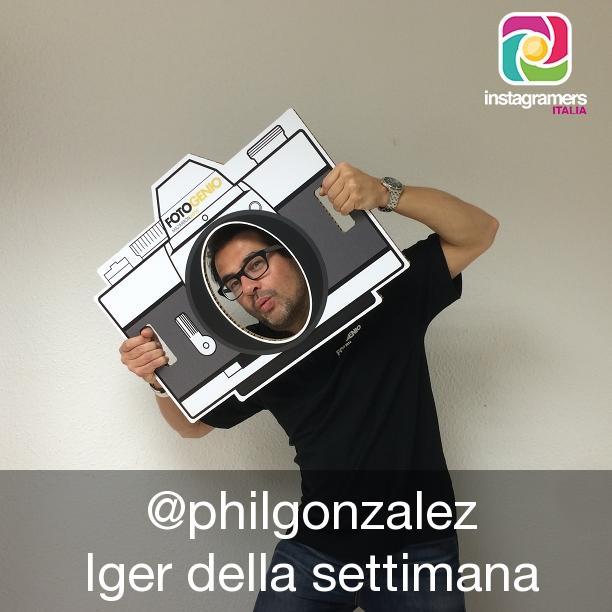 Philippe Gonzalez // Iger della Settimana