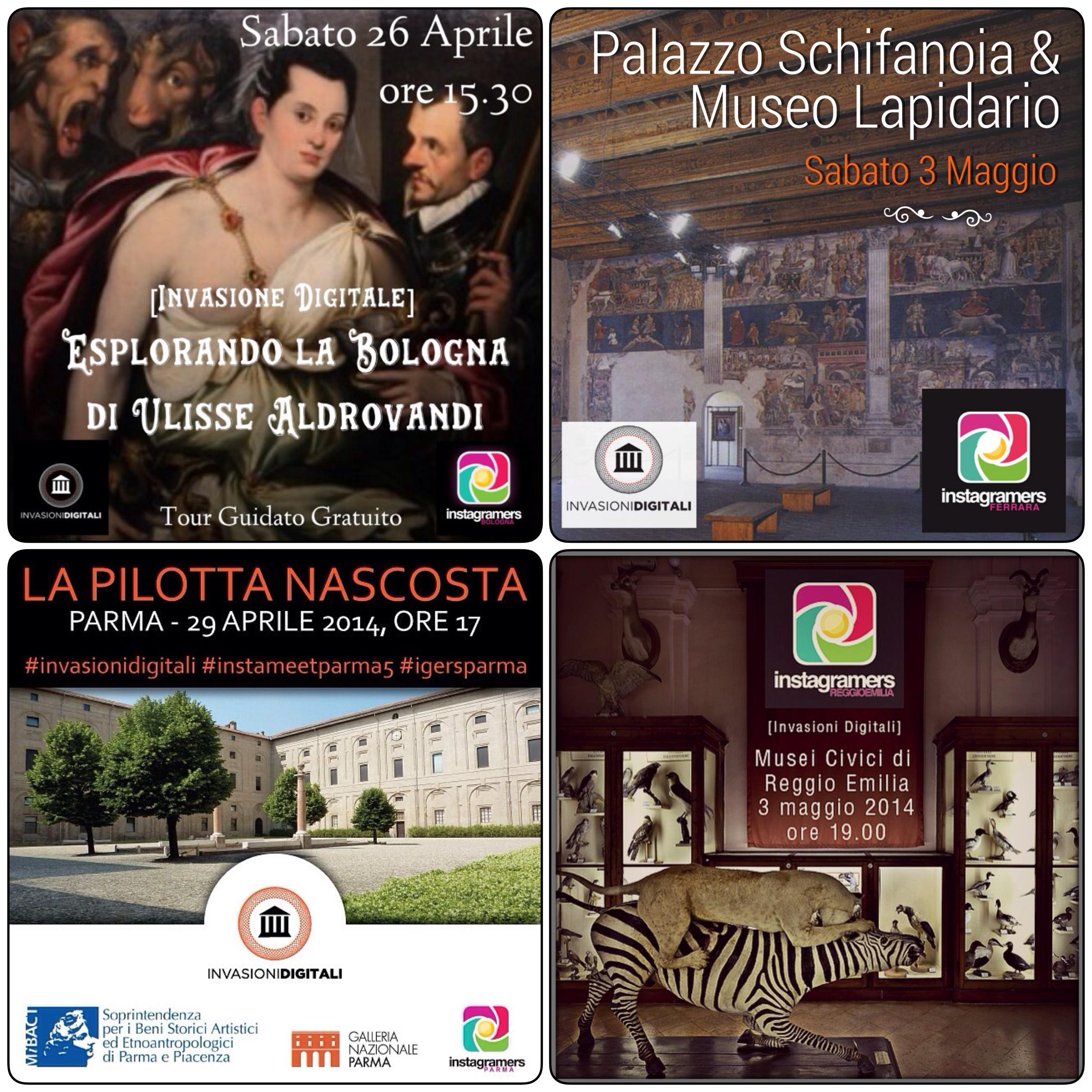 Invasioni Digitali 2014: le iniziative in Emilia Romagna