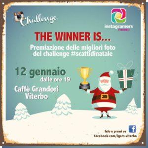 Premiazione Natale su Instagram con IgersViterbo
