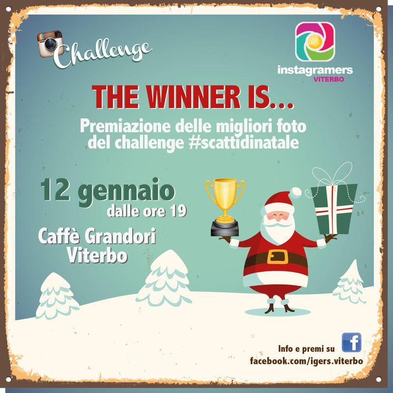 Premiazione del challenge #ScattiDiNatale con IgersViterbo!
