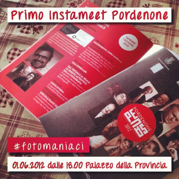 Instagramers Pordenone annuncia il suo primo Instameet!