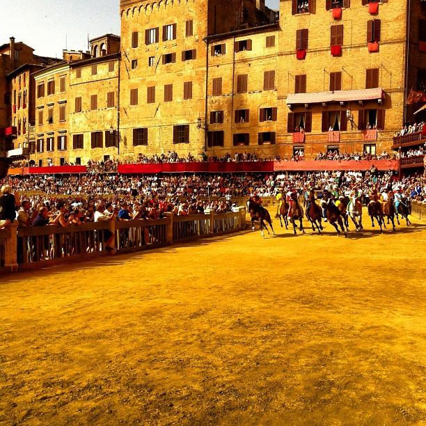 Palio di Siena Edizione di Luglio su Instagram!
