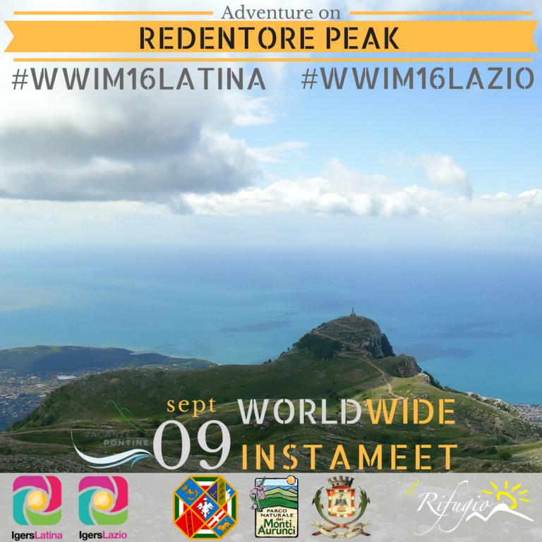 World Wide Instameet 16 - Lazio - Cima del Redentore