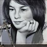 Ritratto di Glenda Jackson, dal profilo ufficiale @rogueonegraffiti