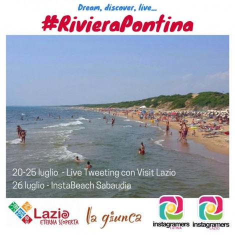 Riviera Pontina, il nuovo brand del turismo 2.0