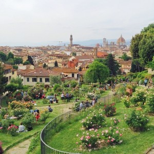 Giardino delle Rose/Firenze credit @tianapix