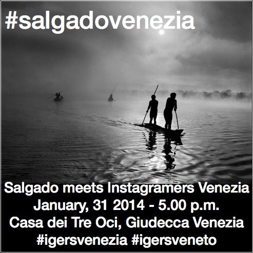 Sebastião Salgado incontra gli Instagramers a Venezia