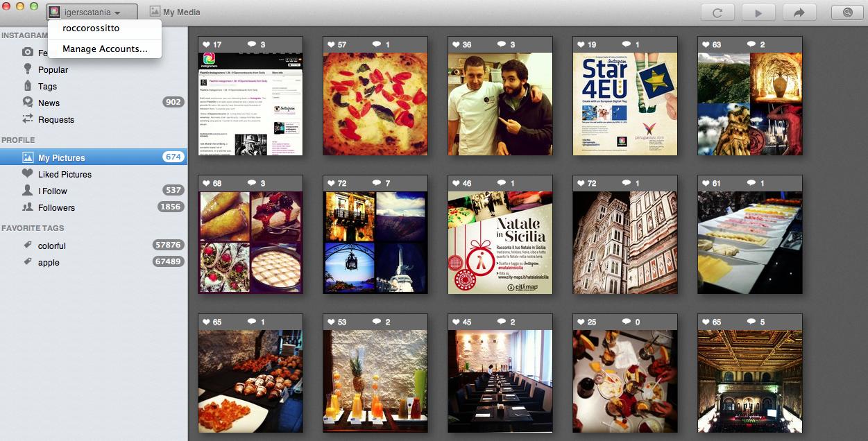 Instadesk, lancia i multiple accounts su Instagram