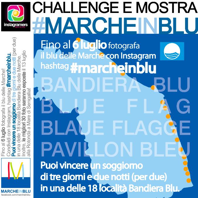 Le Marche e le sue 18 Bandiere Blu su Instagram